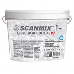 Краска фасадная акриловая Scanmix Acryl Fasade Delux B3