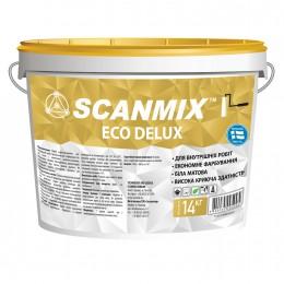 Краска интерьерная дисперсионная Scanmix Eco Deluxe