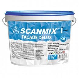 Краска фасадная Scanmix Fasade Deluxe