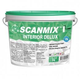 Краска дисперсионная Scanmix Interior Deluxe