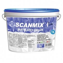 Краска латексная Scanmix Mattlatex Deluxe