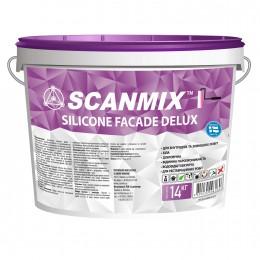 Краска фасадная силиконовая  Scanmix Silicone Fasade Deluxe