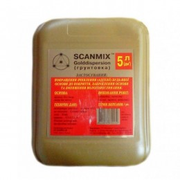 Грунтовка глубокого проникновения Scanmix COLD 5 л