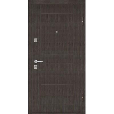 Двери металлические Riccardi (Домино) Эконом, венге