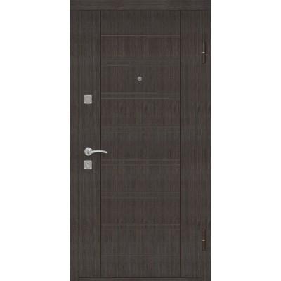 Двери металлические Riccardi (Лагуна) Эконом, венге