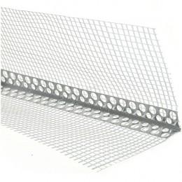 Уголок алюминиевый с сеткой 2.5 м