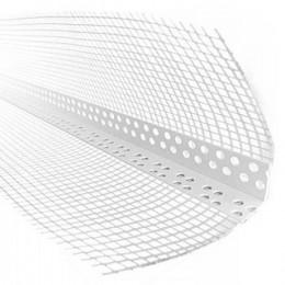 Уголок пластиковый с сеткой 3 м  (10х10см, 145г/м2)