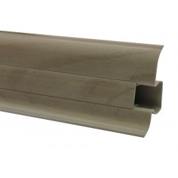 Плинтус Premium Decor Дуб античный 60 мм