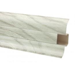 Плинтус Premium Decor Вяз серебрянный 60 мм