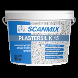 Штукатурка декоративная Scanmix PLASTERSIL K 15 25 кг