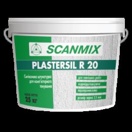 Штукатурка декоративная Scanmix PLASTERSIL R 20 25 кг