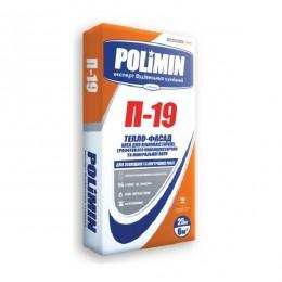 Клей для пенополистирола и минеральной ваты Polimin П-19 25 кг