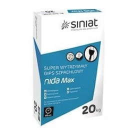 Суперстойкая шпаклевка для швов Nida Max 20 кг