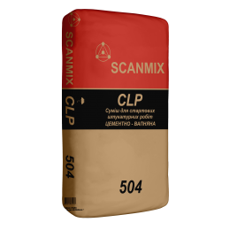 Штукатурка цементно-известковая Scanmix CLP 25 кг