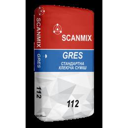 Клей для плитки Scanmix Gres 25 кг