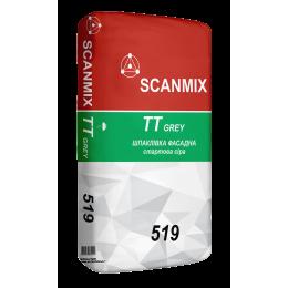 Шпаклевка фасадная стартовая Scanmix TT серая 25 кг