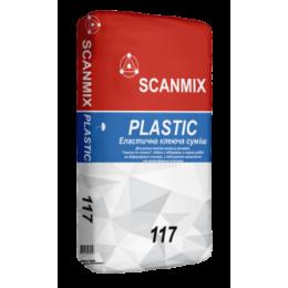 Клей для плитки Scanmix Plastic 25 кг