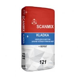 Раствор для кладки пено-газоблока  Scanmix Kladka 25 кг